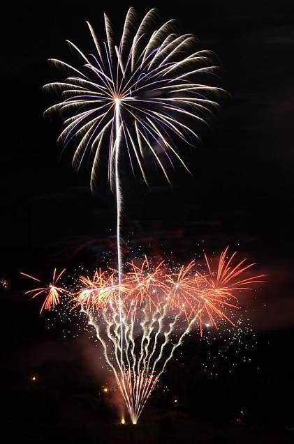 Hochzeitsfeuerwerk von Event Pyrotechnik Kulmbach