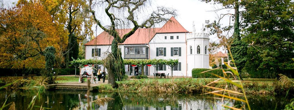 Heiraten und Feuerwerk im Schloss Reichenschwand